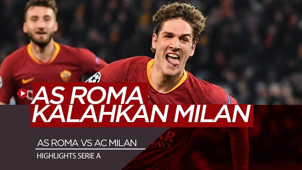 Prediksi AS Roma Vs AC Milan 1 Maret 2021 Liga Italia Serie A