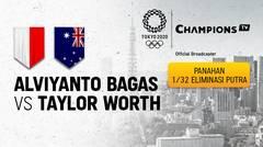 Full Match | Panahan Tunggal Putra 1/32 Eliminasi | Alvianto Bagas Prastyadi (Indonesia) vs Tylor Worth (Australia) | Olimpiade Tokyo 2020