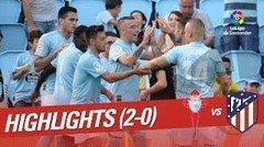Highlight & Goal - Celta Vigo 2-0 Atletico Madrid - Liga Spanyol - 03 September 2018