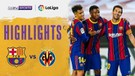 Match Highlight | Barcelona 4 vs 0 Villarreal  | La Liga Santander 2020