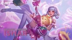 SO CUTE!!! - Ishar Sweet Strawberry Skin Spotlight - Garena AOV (Arena of Valor)