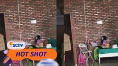 Viral!! Seorang Anak Perempuan yang Semangat Belajar Saat Isolasi Mandiri | Hot Shot