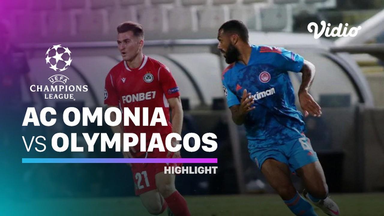 Streaming Highlight - AC Omonia vs Olympiacos I UEFA ...