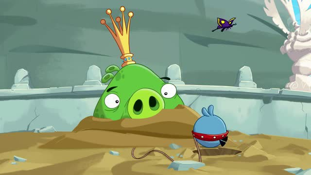 Angry Birds Toons - A Pigs Best Friend
