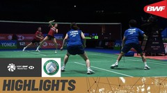 Match Highlight | Yuta Watanabe/Arisa Higashino (Jepang) 2 vs 0 Marcus Ellis/Lauren Smith (England) | Yonex All England Open Badminton Championship 2021