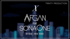 Afgan feat. SonaOne - X | Official Lyric Video