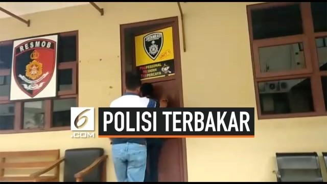 Kasus Polisi Terbakar, Polres Cianjur Belum Tetapkan Tersangka