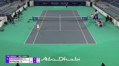 Match Highlight   Ekaterina Alexandrova 1 vs 2 Elina Svitolina   WTA Abu Dhabi Open 2021