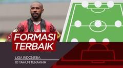 Boaz Solossa dan 10 pemain Terbaik Liga Indonesia Satu Dekade Terakhir