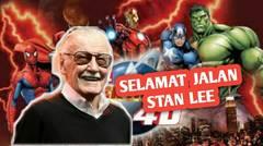 Stan Lee, Sang Legenda Marvel, Meninggal Dunia