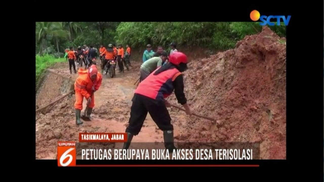Streaming Petugas Gabungan Berupaya Buka Akses Desa ...