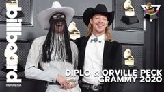 Diplo & Orville Peck Menceritakan Bagaimana Mereka Menjadi Sahabat & Bekerja dengan Noah Cyrus | Grammy 2020