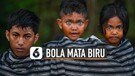Unik, Bocah-Bocah Asli Indonesia Ini Memiliki Bola Mata Berwarna Biru