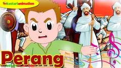 PERANG | Lagu Kisah Nabi bersama Diva | Kastari Animation