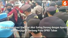 Mahasiswa di Tuban Demo Tolak UU Omnibus Law Cipta Kerja