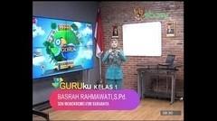 GURUku SBOTV KELAS 1 Tema  KELUARGAKU - 09 November 2020