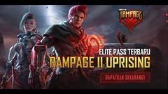 Elite Pass Rampage 2.0 Uprising | Upgrade Sekarang