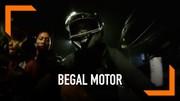 Detik-Detik Aksi Begal Motor Terekam di Jakarta Selatan
