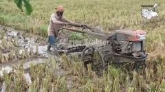 Traktor Quick G1000 Boxer Bajak Lahan Bekas Combine