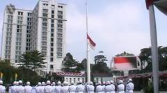 Upacara Peringatan HUT  RI ke 72 Gasibu Bandung Jawa Barat