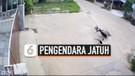 RANTAI MOTOR PUTUS, PENGENDARA JATUH TERPENTAL