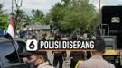 Massa Serang polisi yang Tengah Memberikan Imbauan Covid-19