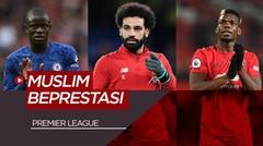Mohamed Salah dan 5 Pesepakbola Muslim Paling Berprestasi di Premier League Saat Ini