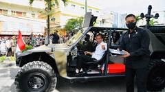 Gunakan Kendaraan Taktis, Presiden Sapa Masyarakat Tarakan, 19 Oktober 2021