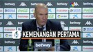 Zinedine Zidane Senang Real Madrid Kalahkan Betis 3-2