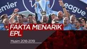 Statistik Menarik Premier League 2018-2019 Usai Manchester City Juara