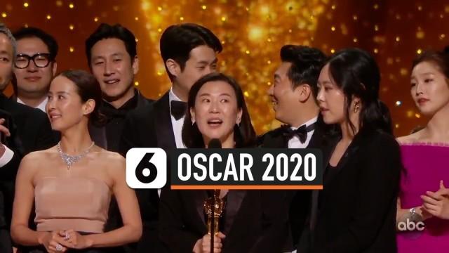 Parasite Cetak Sejarah jadi Film Terbaik Oscar 2020