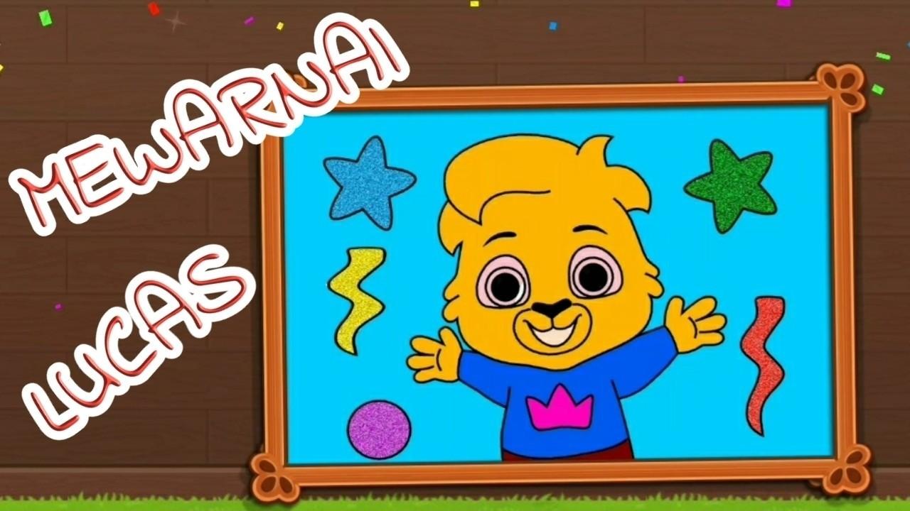 Streaming Belajar Mewarnai Lucas! Game Menggambar untuk ...