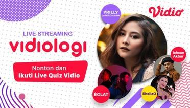 [29 Apr 16:00] Live Streaming Vidiologi Bersama Prilly Latuconsina
