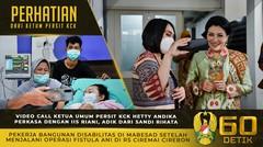 Perhatian Ibu Hetty Andika Perkasa kepada Adik dari Sandi Rihata, Seusai Operasi Fistula Ani
