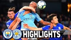 Seru Manchester City 1-0 Leicester Match Highlights