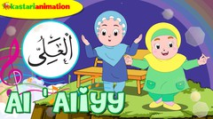 AL 'ALIYY |  Lagu Asmaul Husna Seri 4 Bersama Diva | Kastari Animation