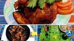 Cara Membuat Ayam Panggang Madu Teflon