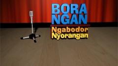 Standup Comedy Sunda - Taufik Faturohman BORANGAN (Ngabodor Nyorangan)