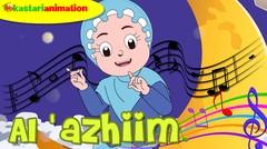 AL 'AZHIIM |  Lagu Asmaul Husna Seri 4 Bersama Diva | Kastari Animation