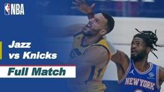 Full Match - Utah Jazz vs New York Knicks I NBA Reguler Season 2020/21