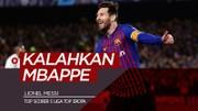 Messi Kalahkan Mbappe, Quagliarella Lebih Baik dari Aubameyang