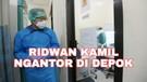 Ridwan Kamil Berkantor di Depok