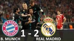 Bayern Munich vs Real Madrid 1-2 - Hasil leg 1 Semi Final UCL 26 April 2018