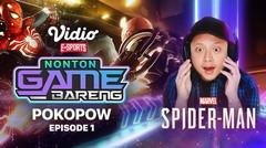 Nonton Game Bareng : Pokopow! Tiba-tiba Jadi Spiderman?? | Vidio E-Sports