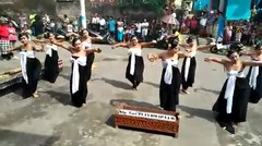 Tari Ngoncang Oleh Kelompok Tari Puja Dwipa Eka Wakya Br. Paketan 2017