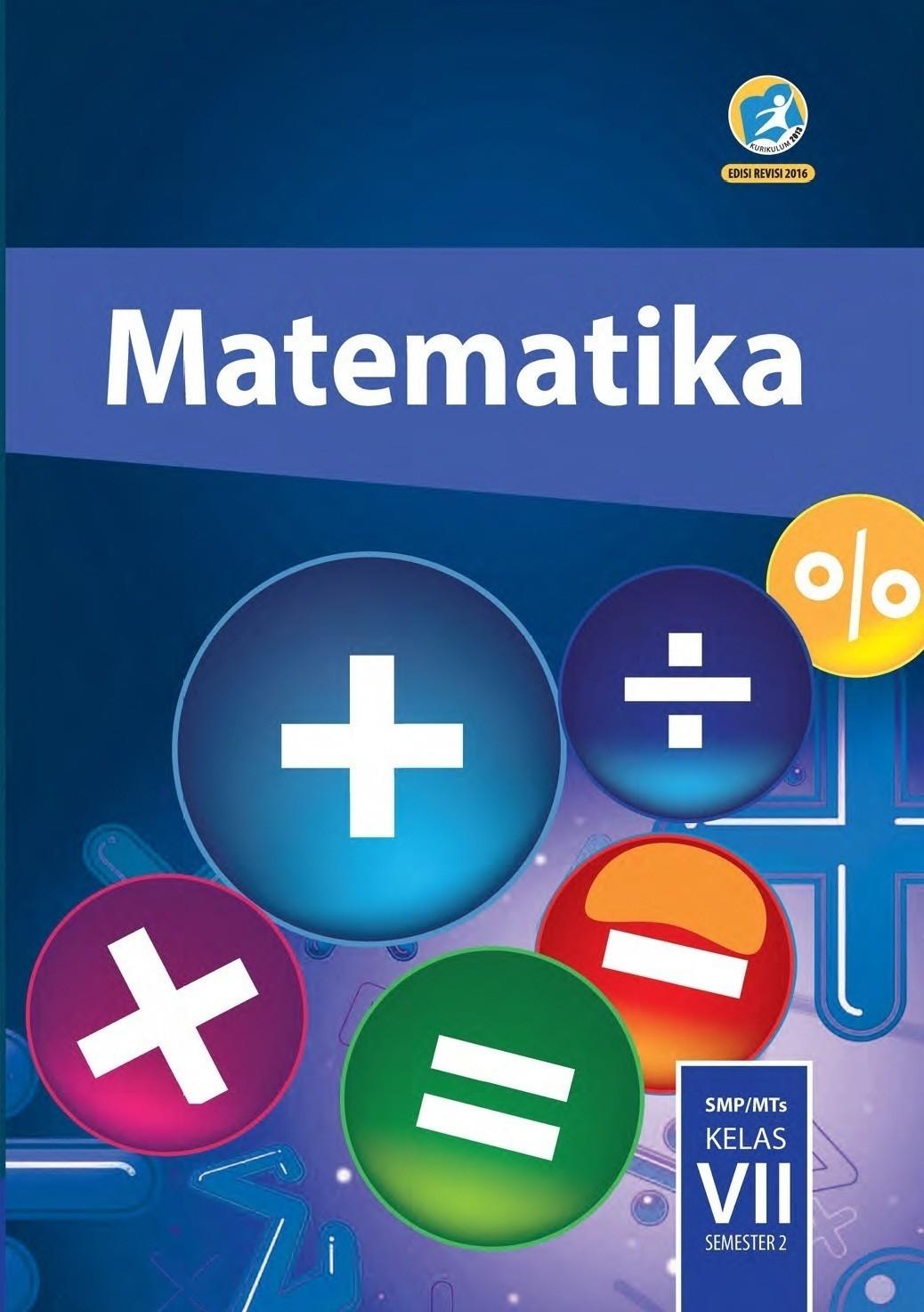 Kunci Jawaban Uji Kompetensi 5 Matematika Kelas 7 Semester 2
