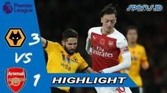 arsenal vs wolves 1-3 | Highlight &goals (25/04/2019)