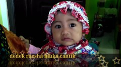 Muka Cantik & Muka jelek Raesha