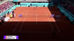 Match Highlights | Paula Badosa 2 vs 0 Belinda Bencic | WTA Mutua Madrid Open 2021