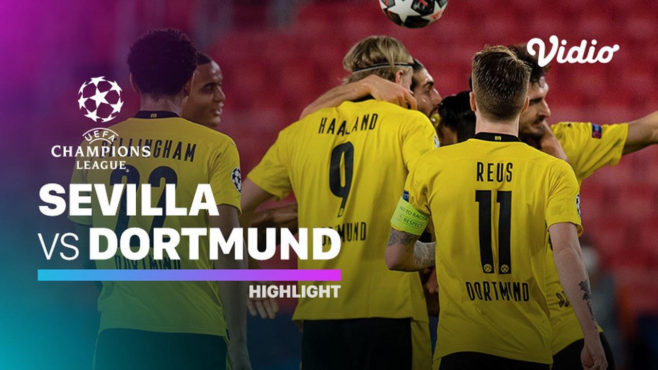 Streaming Highlight - Sevilla vs Dortmund I UEFA Champions ...